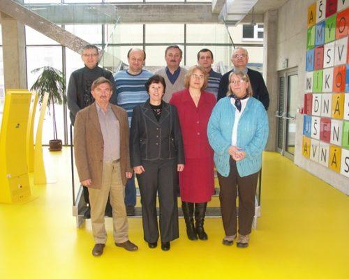 Predstavenstvo NKOS v Univerzitnej knižnici KU v Ružomberku 2014